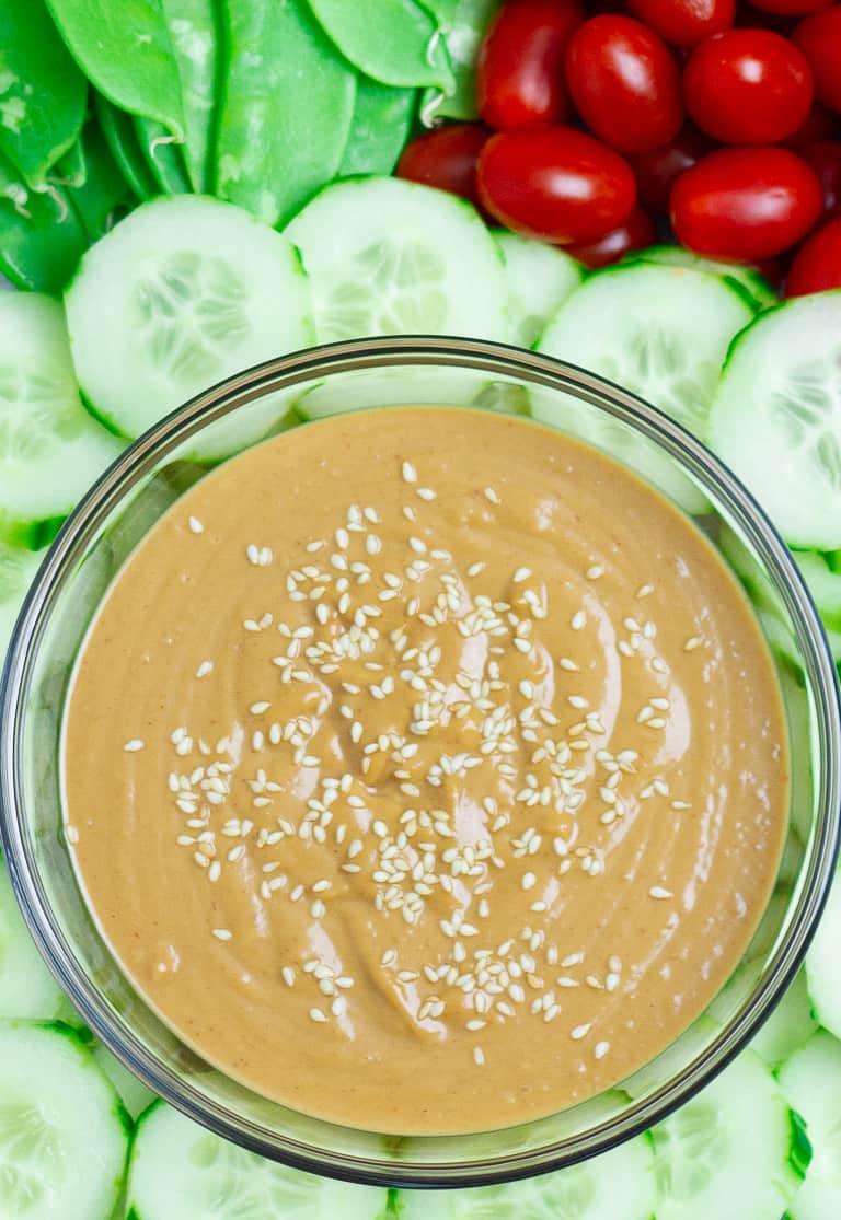 Sesame Ginger Peanut Sauce