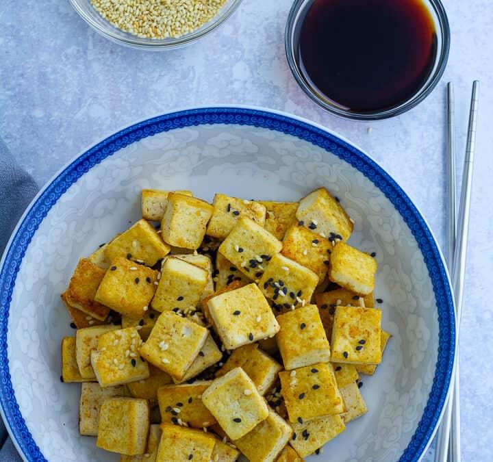 Crispy Pan Seared Tofu