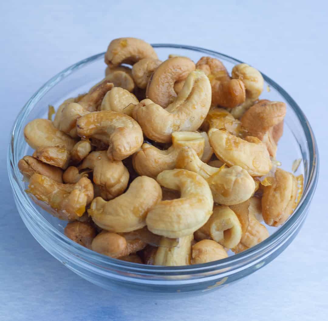 Maple Roasted Cashews