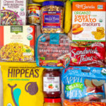 Easy Vegan School Lunch items from Costco