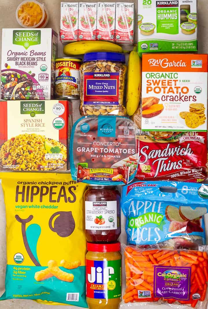 Easy Vegan School Lunch Ideas From Costco