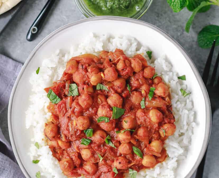 The Best Vegan Chana Masala
