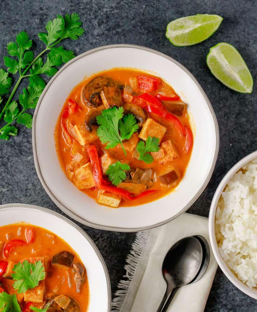 Easy Vegan Thai Red Curry
