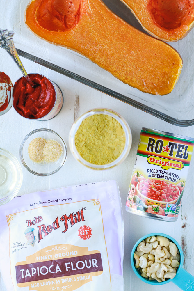 Ingredients for Low Fat Vegan Rotel Dip. Photograph by Happycowandme.com.
