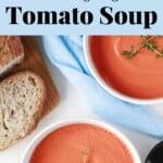 Slimming Vegan Tomato Soup