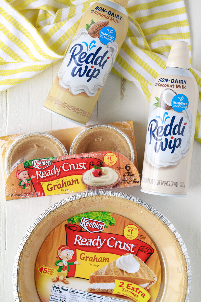 Keebler Ready Crust and Non-Dairy Reddi Wip.