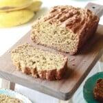 Vanilla Protein Banana Bread