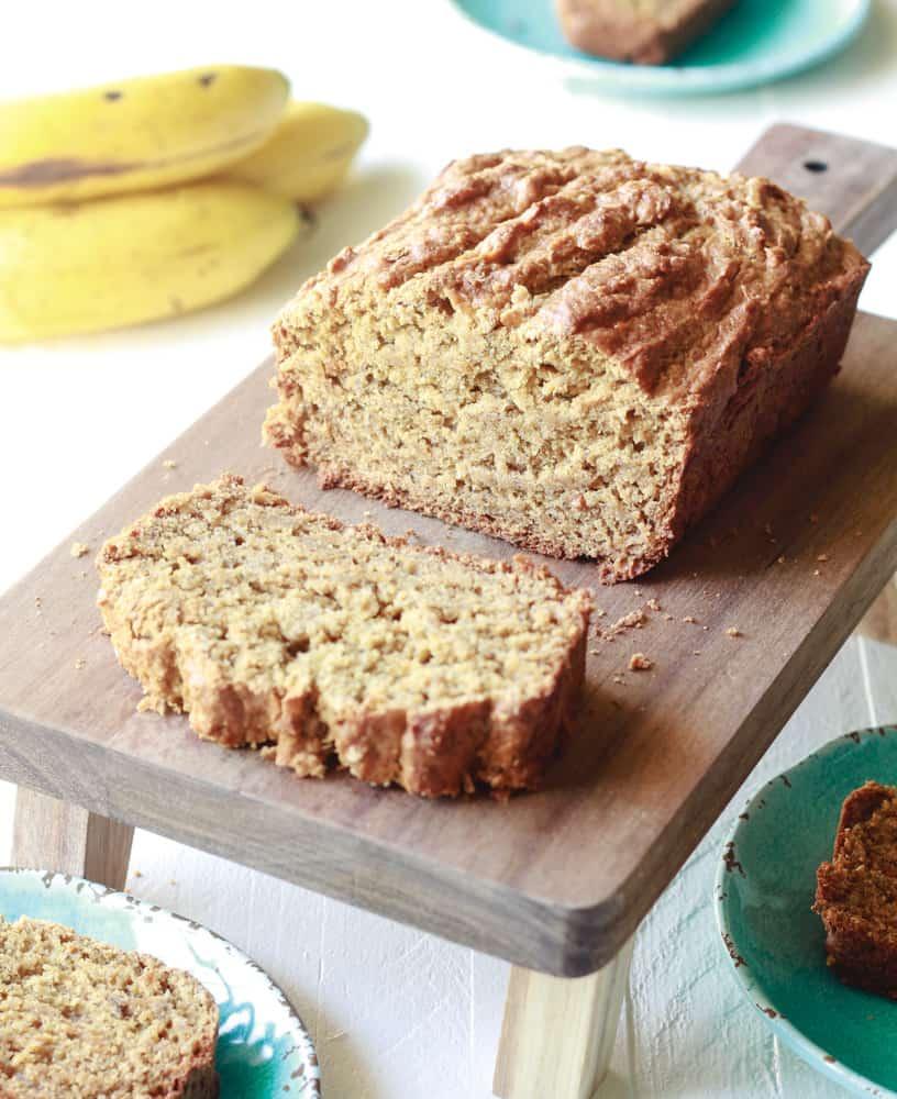 Vanilla Protein Banana Bread (Vegan)