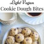 Light Vegan Cookie Dough Bites
