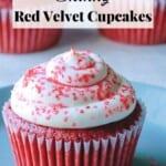 Skinny Red Velvet Cupcakes