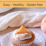 Healthy Peaches and Cream Muffins