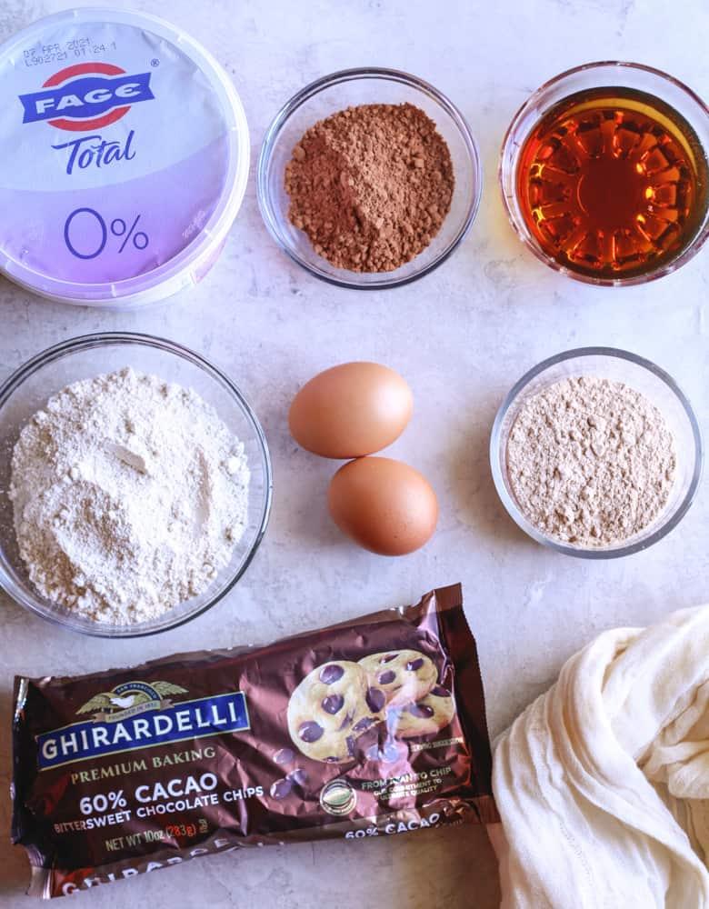 protein brownie ingredients