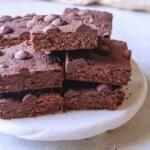 healthy protein brownies