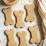 Peanut Butter Oat Dog Treats