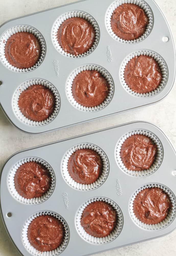 Quinoa Chocolate Cupcakes